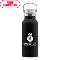 Customized 17 oz. Nyla Stainless Steel Vacuum-Insulated Water Bottle