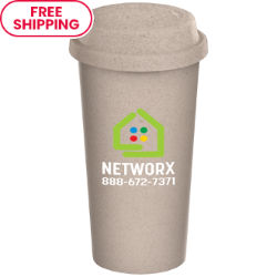 Customized Grande Britebrand™ 16 oz. Eco-Friendly Reusable Coffee Cup