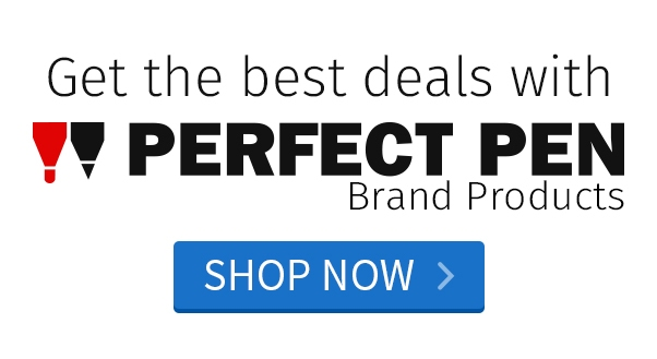Get the Best Deals with Perfect Pen Brand Products. Shop Now >