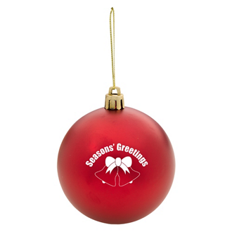 Customized Round Christmas Ornament