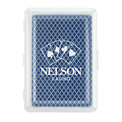 Customized Playing Cards In Case - 16 oz