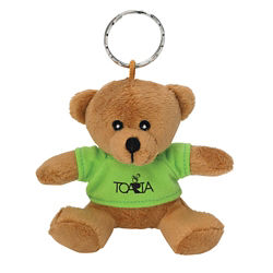 Customized Mini Bear Keychain