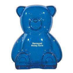Customized Plastic Bear Shape Bank