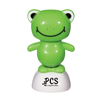 Customized Solar Powered Dancing Frog