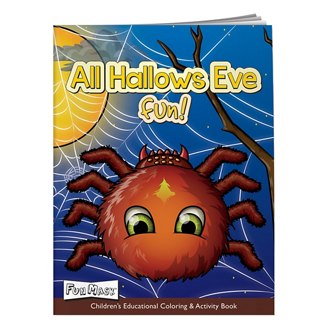 Customized Colouring Book-All Hallows Eve with Fun Mask