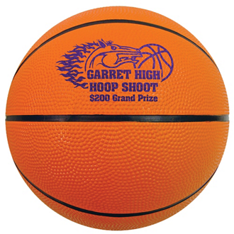Customized Mini Rubber Basketball