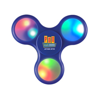 Customized Light-Up LED Fun Spinner