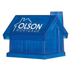 Customized Plastic House Shape Bank