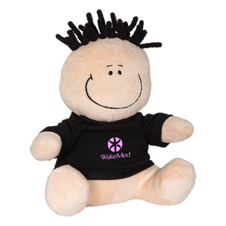 Customized MopTopper™ Plush Toy & Screen Cleaner-Boy w/ Shirt
