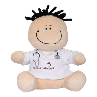 Customized MopTopper™ Plush Toy & Screen Cleaner-Doctor/Nurse