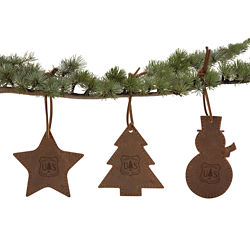 Customized Deck the Halls Ornament Gift Set