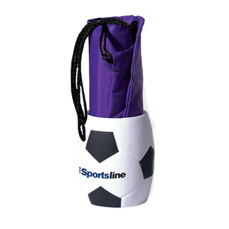 Customized Drawstring Tote Backpack + Soccer Ball Can Holder