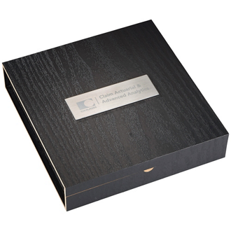 Customized Belgio Coasters and Wine Opener Set