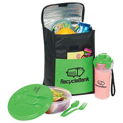 Customized Stay Fit Cooler Gift Set