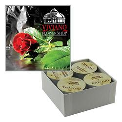 Customized Custom Coffee or Hot Chocolate Box 4 Pack