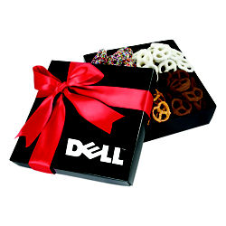 Customized 4 Delights Gift Box - Assorted Mini Pretzels