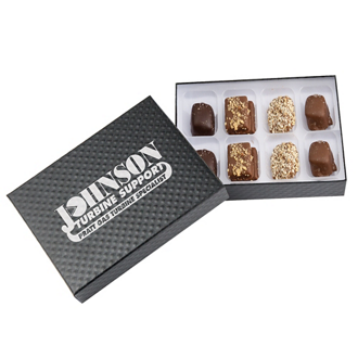 Customized 8-piece Gourmet Candy Box