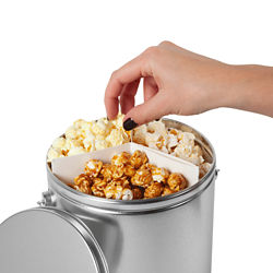 Customized 1 Gallon Trio Popcorn Tin