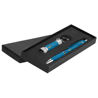 Customized Suave Camilla Pen Gift Set - Full Color Inkjet