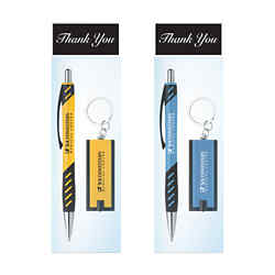 Customized Victor Pen & Flashlight Gift Set