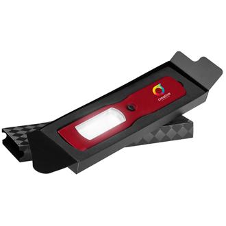 Customized Full Colour Inkjet Oval LED Flashlight with Gift Box