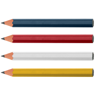 Customized Hexagon Golf Pencils - Blank