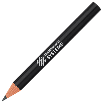 Customized Golf Pencils - Round
