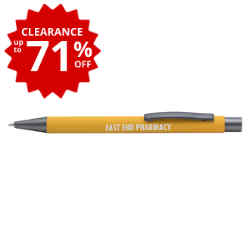 Customized Arlington Pen - Soft Touch Deluxe Ink