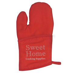 Customized Quilted Cotton Canvas Oven Mitt