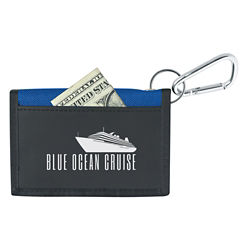 Customized Wallet with Carabiner