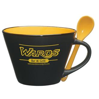 Customized Aztec Soup Mug - 16 oz