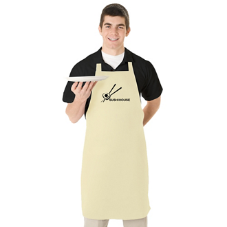 Customized Natural or White Butcher Apron