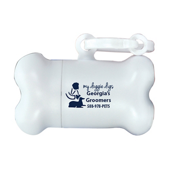 Customized Curb Your Dog Bag Dispenser