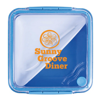 Customized Koozie® Square Food Container