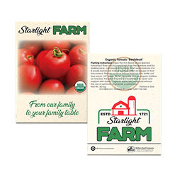 Customized Standard Seed Packet