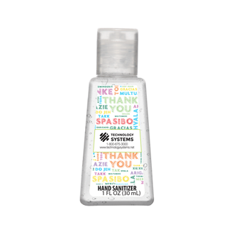 Customized Britebrand™ 1 oz. 70% Alcohol Antibacterial Hand Sanitizer