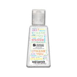 Customized Britebrand™ 1 oz. 70% Alcohol Antibacterial Hand Sanitizer
