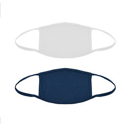 Customized 2-Layer 100% Cotton Reusable Face Mask