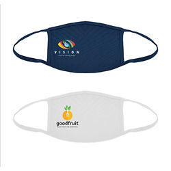 Customized Britebrand™ 2-Layer Reusable Cotton Mask with Clear Bag
