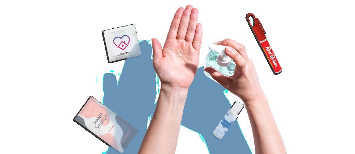 Shop custom hand sanitizers