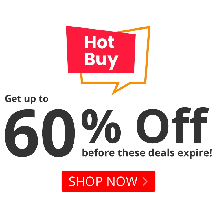 Up to 60% off Hot Buys