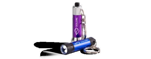 Promotional Keychain Flashlights Hero