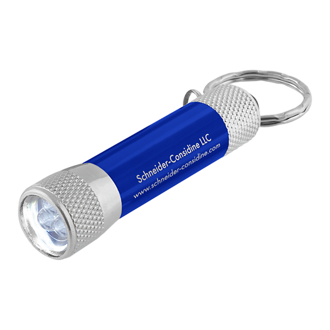 Customized LED Flashlight Key Chain