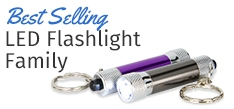 LED Flashlight Keychains