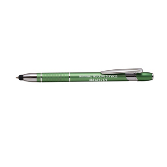 Customized Eris Pen and Stylus Tip - Smoke