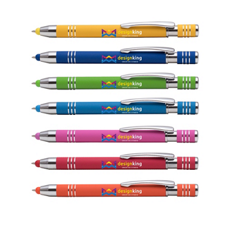 Customized Bright Soft Touch Maya Pen and Stylus Tip