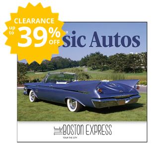Customized Classic Autos Calendar