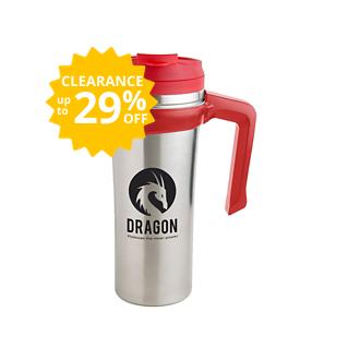 Customized Double-Walled Non-Skid Gabe Travel Mug - 16 oz