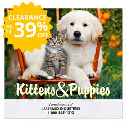 Customized Puppies and Kittens Calendar