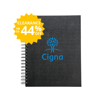 Customized Grand Scheme Large Spiral Notebook with Pockets